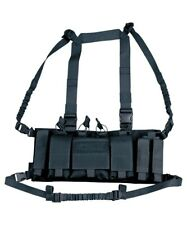 Trojan Tactical Chest Rig Utility Vest Pistol Mag GPS Army Coyote Black
