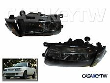 New 91-94 Black Headlights Corner Lamps Lights For Nissan B13 Sentra