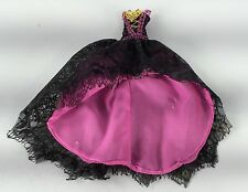NEW Monster High Doll 13 Wishes Draculaura Pink Dress Clothes Outfit Lot