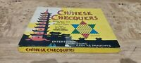 SPEARS CHINESE CHECQUERS VINTAGE BOARD GAME, Complete