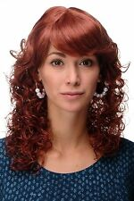 Wig NEW Romantic Red Hair Copper Red Tresses Curly Points mc008-130
