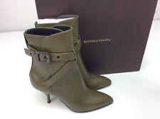 Bottega Veneta Mod Bootie Ankle Boots Mustard Size 37 US 7