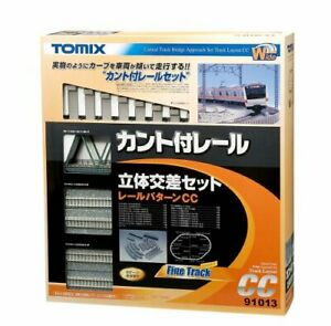 TOMIX N gauge Kant with rail crossing set CC 91013 model railroad supplies