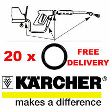 20 KARCHER HD HDS HOSE NOZZLE JET LANCE SPARE O-RING SEALS O RINGS O RING SEAL