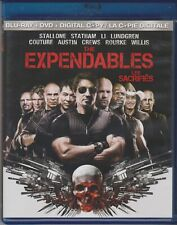 The Expendables (Blu-ray/DVD, 2010, 2-Disc Set,)