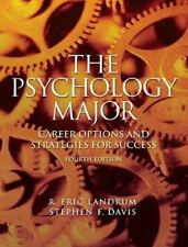 The Psychology Major : Career Options and Strategies for Success by Stephen...