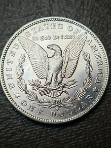 1884O 1884 New Orleans Morgan Silver Dollar coin Mint State Unc Vam Narrow Mint