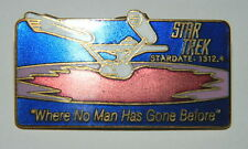 Classic Star Trek 3rd Aired Episode Where No Man Has Gone Before Logo Metal Pin
