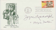 Signed Joyce Randolph Fdc Autographed First Day Cover The Honeymooners