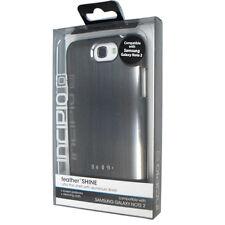 Nuevo Incipio Samsung Galaxy Note 2 Brillo de la Pluma Silver Ultra Fino
