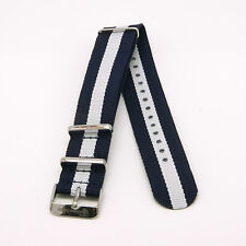 JACQUES COSTAUD - DOLCE VITA - SANTA MONICA JC-N08AS NYLON NATO MEN'S STRAP