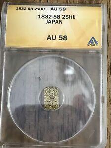 1832-58 2SHU Japan Gold Samurai Cash