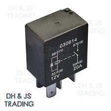 Micro Relé 4 Pin 12v 20a + diodo Normalmente Abierto Mini 20 Amp auto van Marine MRY3