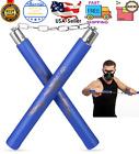 """12"""" Ninja Foam Padded Karate Nunchucks Martial Arts Nunchaku Nunchuk- Blue NEW"""