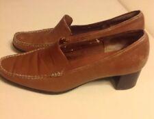 Aerosoles True Blue Tan Leather Women's Shoes Size 10B Oxford Casual Comfort