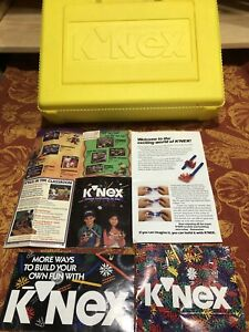 K'NEX Yellow Container with Books