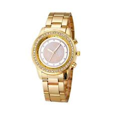 Fashion Ladies Women Girl New Coming Stainless Steel Metal Band Crystal Watches