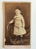 Victorian Carte De Visite CDV Photo - Edinburgh - Child In Unusual Dress