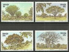 Venda - Bäume (I). Satz postfrisch 1982 Mi. 62-65