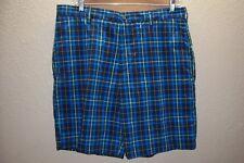 NEU NWT IZOD GOLF kariert 96.5cm Taille Shorts Mischung Schiff mit / eBay