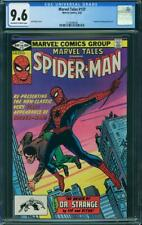 MARVEL TALES 137  CGC 9.6 OFF WHITE TO WHITE PAGE AMAZING FANTASY 15 REPRINT  A3