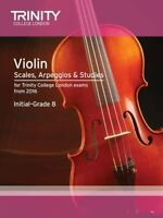 Violin Scales, Exercises  Studies Initial-Grade 8 from 2016