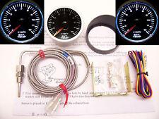 RSR Abgastemperatur Anzeige Stepper 52 klar Zusatz Instrument EGT 16V VR6 Turbo