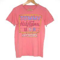 Tommy Hilfiger Established 85 Womens Pink Shirt Size L Highway Sign