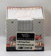 NASCAR Personal Note Cube Tony Stewart #20 NIP 400 Sheets