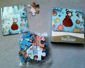 36 large Piece child's Jigsaw puzzle  & Book .The Nutcracker