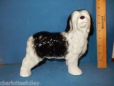 Old English Sheepdog Large lovely ceramic figurine Melba Ware England