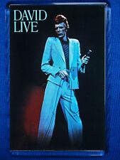 David Bowie-David Live Poster Jumbo Fridge Magnet Marc Bolan T.Rex