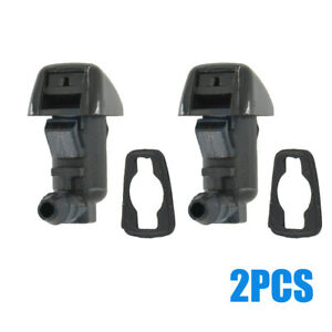 Windshield Wiper Washer Jet Spray Nozzle For Ford F550 F350 F250 F450 2008-2010