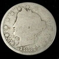 1887 United States Liberty V Nickel .05c Rare Better Date Collector Coin 0VN8706