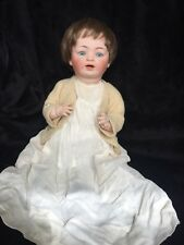 """18"""" Antique German Doll Marked G B Porcelain Head/Composition Body"""