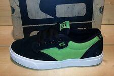 Globe Motley-Kids Schuh Longboarding/Skateboarding Farbe Black/Green Größe 35