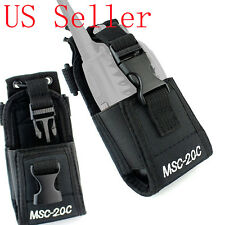MSC-20C Multi-function Nylon Case Bag for Baofeng Kenwood Motorola Two-way Radio