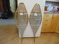 antique indian      snowshoes       15  x  46   nice   /#  2108