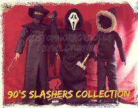90's Slashers CUSTOM HORROR DOLLS Scream Ghostface Fisherman Urban Legend OOAK