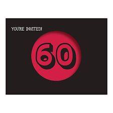 8 Holy Bleep! 60th Birthday Party Invitations Invites plus Envelopes