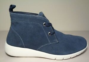 GBX Size 10.5 M AMARO Navy Suede Leather Sneaker Boots New Men's Shoes