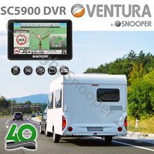"Snooper SC5900 DVR Ventura G2 Dash Cam GPS Caravan Motorhome Sat Nav 5"" UK & EU"