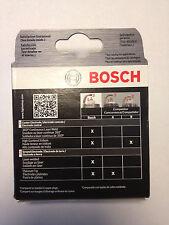 Bosch 9620 set of 4 Fine Wire Iridium Spark Plugs fits Altima Sentra Cube Rogue