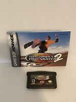 Tony Hawk's Pro Skater 2 (Nintendo Game Boy Advance, 2001) With Manual