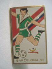 PINS CATALOGNE BARCELONE FOOT 1992 FOOTBALL ESPAGNE