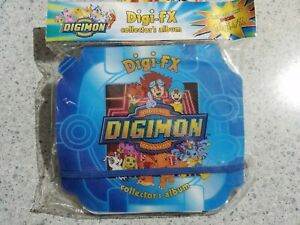 Digimon Digi-FX collectors album + 2 Bonus special Collector FX BRAND NEW !!!!