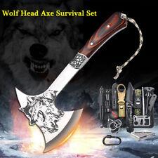 Tactical Survival Axe Kit Jagdbeil Notfallausrüstung EDC Outdoor Camping Set