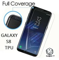 Samsung Galaxy S8 Plus Full cover Screen Protector TPU transparent FA