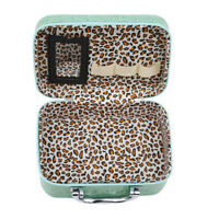 Portable Travel Beauty Cosmetic Makeup Storage Case Handbag With Mirror WE