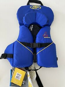 New STOHLQUIST INFANT/TODDLER Life Jacket Coast Guard Approved Life Vest 8-30 Lb